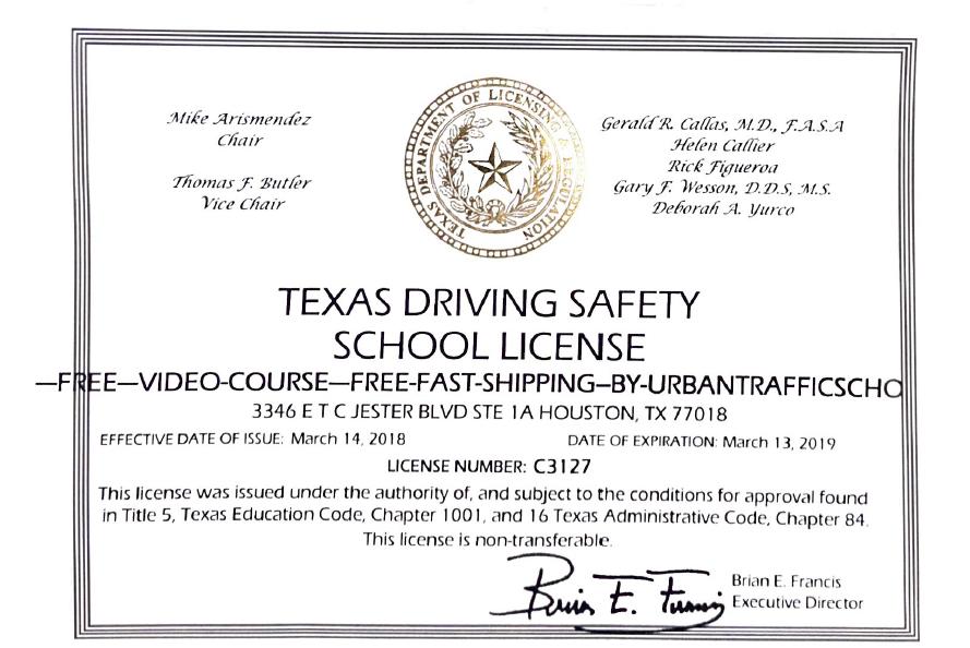 Video Mature Driver Course DMV Traffic School License